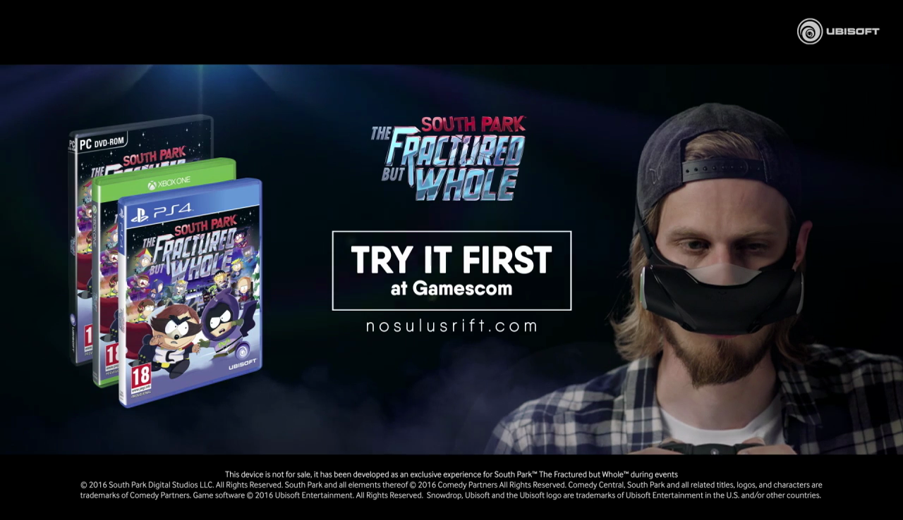 South Park: The Fractured But Whole - Nosulus Rift ...
